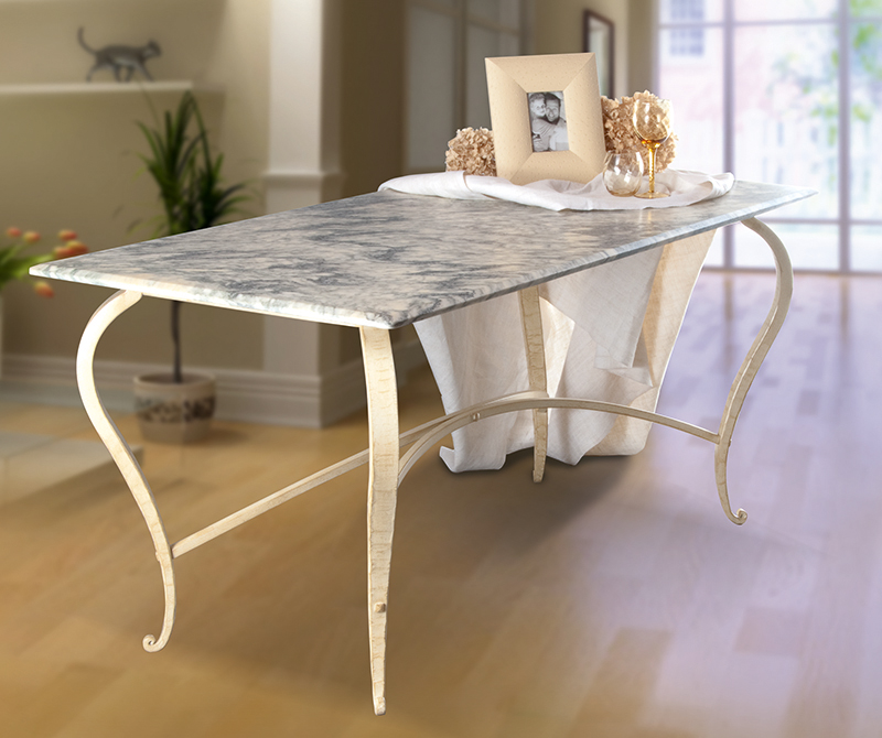 Tavolo da interni BOTTICELLI - tavoli ferro battuto
